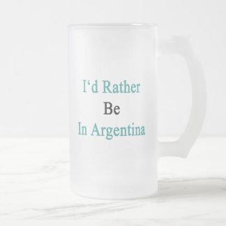 Caneca De Cerveja Vidro Jateado Eu preferencialmente estaria em Argentina
