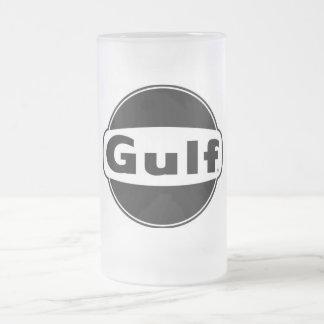 Caneca De Cerveja Vidro Jateado Golfo