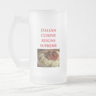 Caneca De Cerveja Vidro Jateado italiano