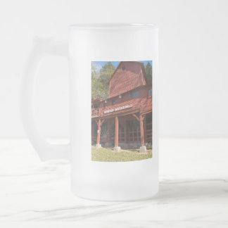 Caneca De Cerveja Vidro Jateado Moinho de água de Hodgson