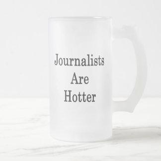 Caneca De Cerveja Vidro Jateado Os journalistas estão mais quentes