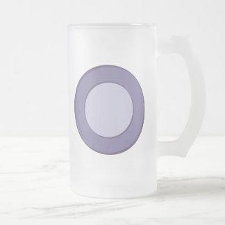 Caneca De Cerveja Vidro Jateado Ponto do Lilac