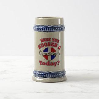 Caneca De Cerveja Você abraçou um Dominican hoje?