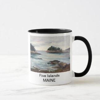 Caneca de cinco ilhas, Maine