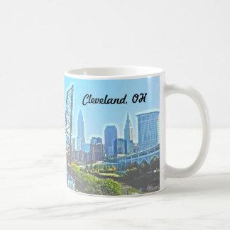 Caneca de Cleveland Ohio da manhã
