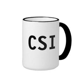 Caneca de CSI