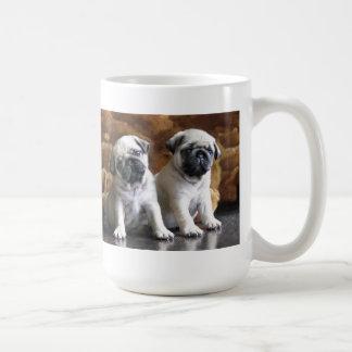 Caneca de dois Pugs