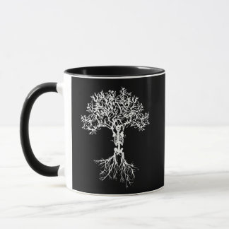 Caneca de esqueleto da árvore
