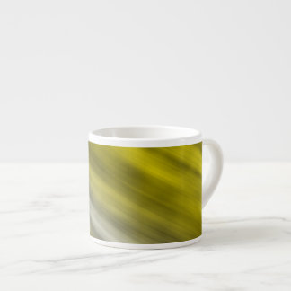 Caneca de Expresso, arte abstracta, amarela