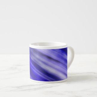 Caneca de Expresso, arte abstracta, azul