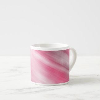 Caneca de Expresso, arte abstracta, cor-de-rosa