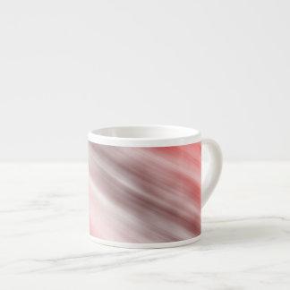Caneca de Expresso, arte abstracta, vermelha