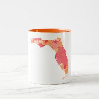 Caneca de Florida da aguarela