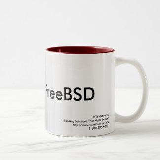 Caneca de FreeBSD