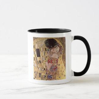 Caneca ~ de Gustavo Klimt o beijo