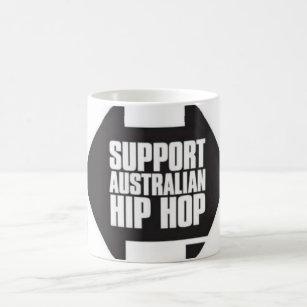 Caneca de Hip Hop do australiano do apoio