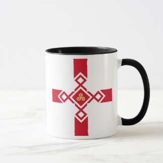 Caneca de Inglaterra - cruz do Anglo-Céltico