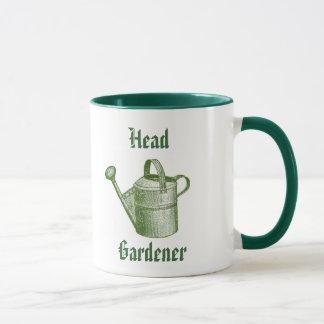Caneca de jardinagem do estilo tradicional do