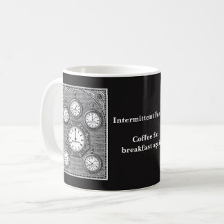Caneca de jejum intermitente do pulso de disparo