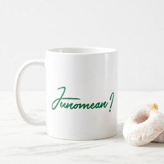 Caneca de Junomean, caneca de café de Junomean
