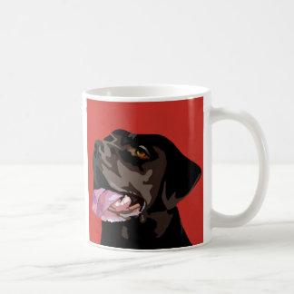 Caneca de Labrador do chocolate