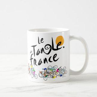 Caneca de Le Emaranhado de France (Le Tour de
