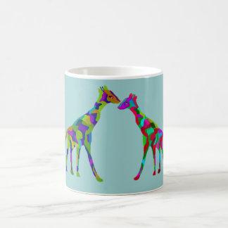 Caneca De Café Caneca de Luv do girafa
