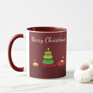 Caneca de Macarons | do Feliz Natal