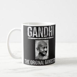 Caneca de Mahatma Gandhi - gângster original