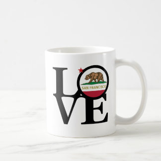 Caneca de San Francisco 11oz do AMOR