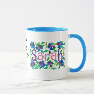 """Caneca de """"Sarah"""""""