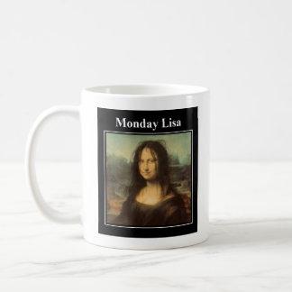 Caneca de segunda-feira Lisa