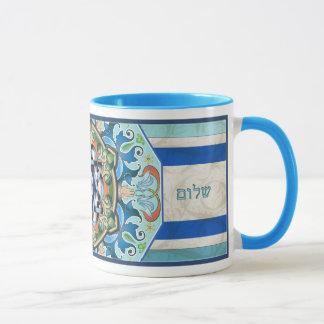Caneca de Shalom da mandala