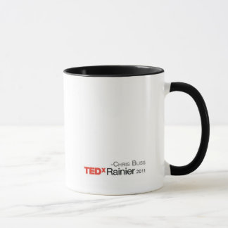 Caneca de TEDxRainier - Chris Bliss2