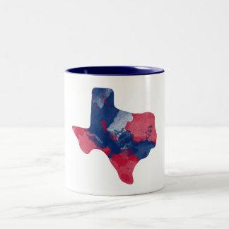Caneca de Texas da aguarela