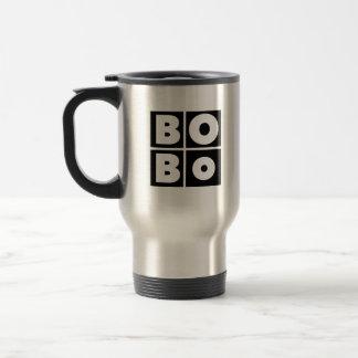Caneca de viagem da marca de Bobo