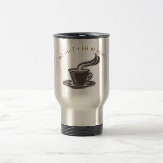 caneca de viagem do café