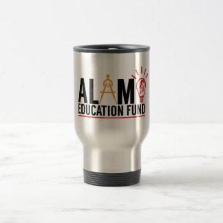 Caneca de viagem do fundo de ensino de Alamo