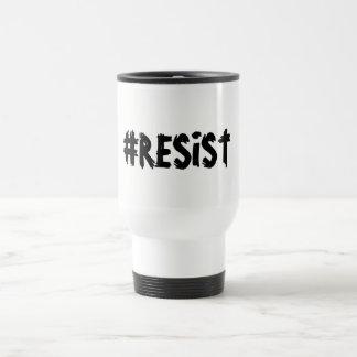 Caneca de viagem do #RESIST
