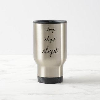 caneca de viagem irónica do sono