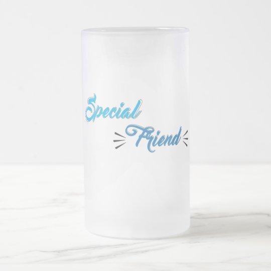 Caneca de vidro special friend.