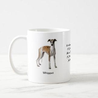 Caneca de Whippet - com duas imagens e um motivo