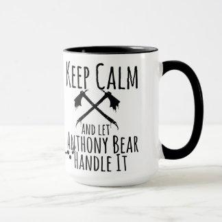 Caneca Deixe Anthony segurá-lo