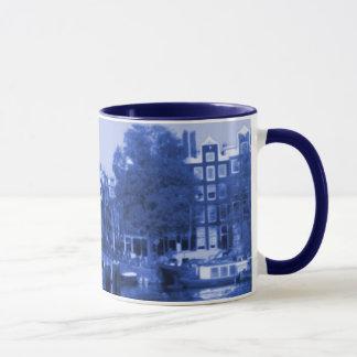 Caneca Delft-Azul-Olhar da arquitectura da cidade de