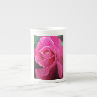 Caneca deliciosa de China de osso do rosa do rosa