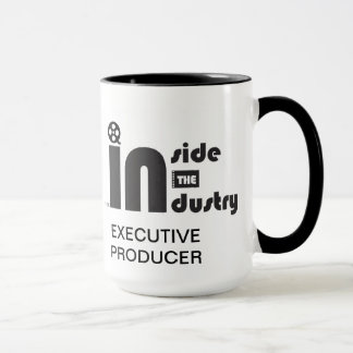 Caneca Dentro do logotipo da indústria