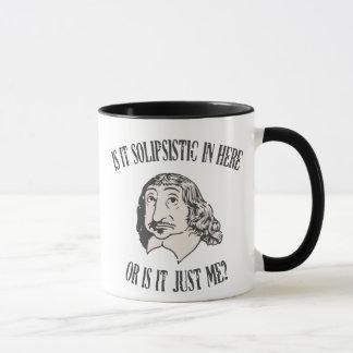 Caneca Descartes Solipsistic