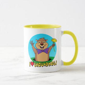 Caneca Desenhos animados Groundhog