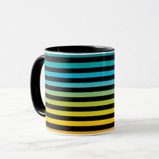 Caneca Design colorido 6 da forma na moda brilhante de
