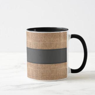 Caneca Design de serapilheira de Brown